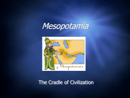 Mesopotamia PPT Notes