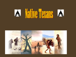 Current Indian Reservations in Texas