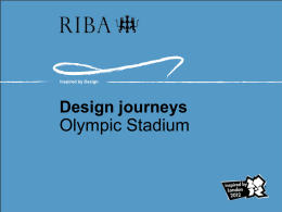 Olympic Stadium design journey