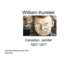 William Kurelek Power Point