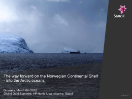 Large Norwegian gas resources to meet future demand