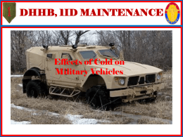 Vehicle Winterization Class