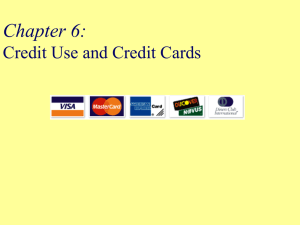 Introduction to Consumer Credit
