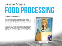 the PowerPoint - Fresno Food Processing