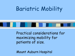 Bariatric Mobility