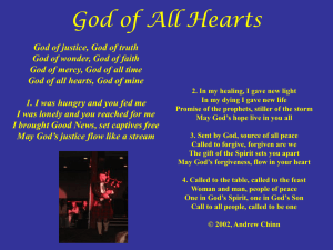 God of All Hearts