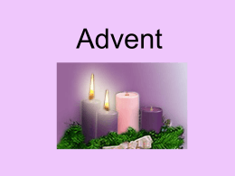 Advent - St. Mary School