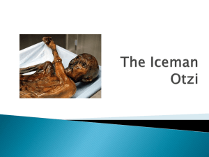 Otzi the Ice Man