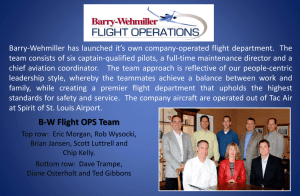 BW Flight OPS Team