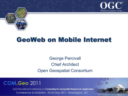 GeoWeb on Mobile Internet