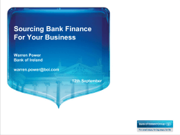 Bank of Ireland - Local Enterprise Office