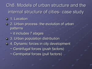 chapter 13 learning guide urban patterns key issue 1