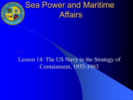 Lesson-14-The-US-Navy-in-the-Strategy-of-Containment-1953