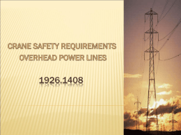 Overhead Power Line Training