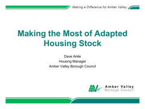 Making the Most of Adapted Housing Stock