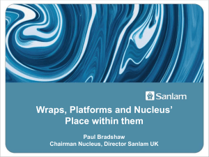 Wraps, Platforms and Nucleus` Place within them by Paul