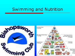 Swimming and Nutrition - Bishopsworth Swimming Club
