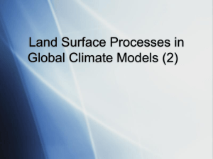 The NCAR Community Land Model (CLM3) Introduction