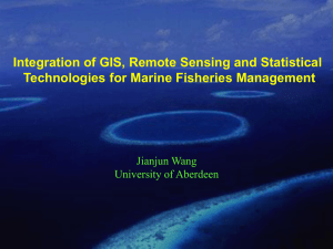 Integration of GIS, Remote Sensing and Statistical Technologies for