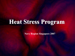 Heat Stress Lesson