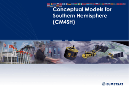 Conceptual Models for the Southern Hemisphere