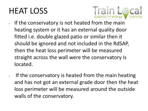Conservatories - The Energy Link