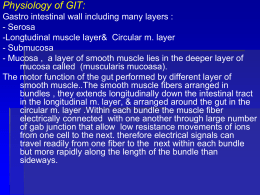 Physiology of GIT
