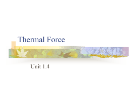 Thermal Force