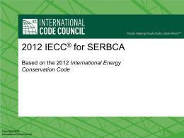 IECC for Commissioning Requirements