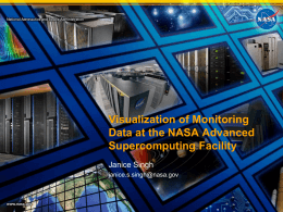 NASA Advanced Supercomputing Facility