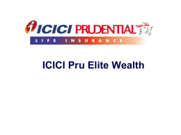 Sum Assured - ICICI Prudential Life Insurance