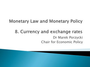Currency regimes
