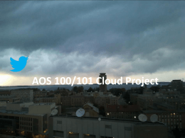 AOS 100/101 Cloud Project