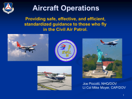 Aircraft Operations - CAP Members