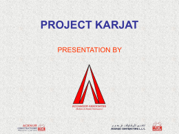 project karjat - acknur constructions private limited