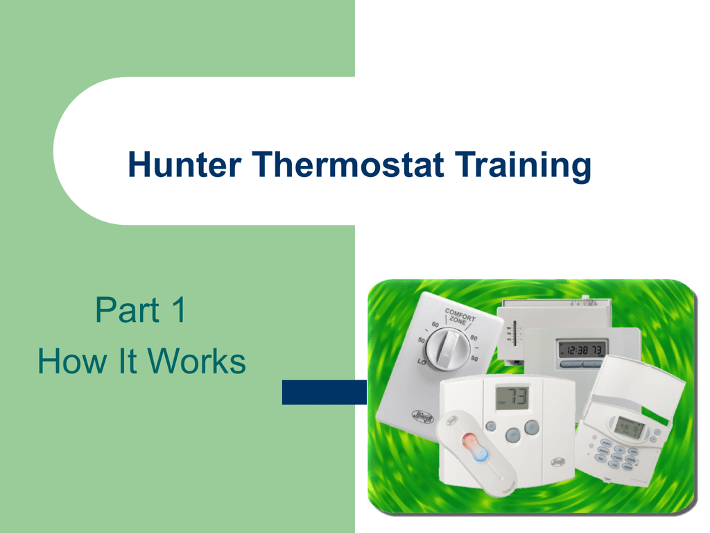 Hunter Thermostat 44860 Wiring Diagram Page 2 And 44905 Training Rh Studylib Net 44132 Manual
