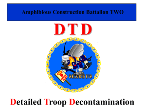 PPT: Troop Decontamination
