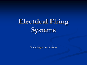 electrical firing s
