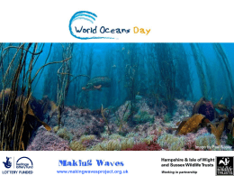 World Oceans Day Assembly PowerPoint