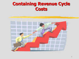 Containing Revenue-Cycle Costs