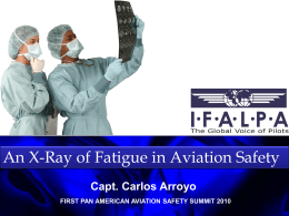 Fatigue in aviation V 1.2