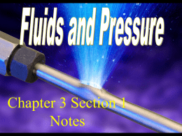 Fluids and Pressure Note Site