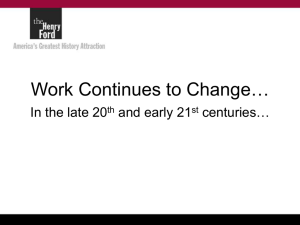 Work Changes Again, 21st Century Slideshow