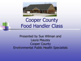 Basic - Cooper County Public Health Center