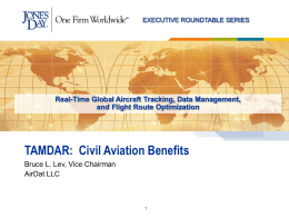 TAMDAR: Civil Aviation Benefits
