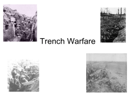 2. Trench Warfare
