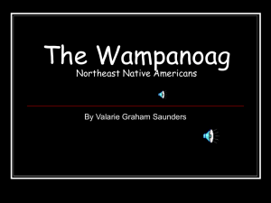 The Wampanoags - AAMU Myspace Login