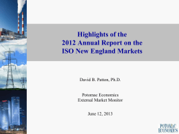 2007 State of the Market Report New York Electricity Markets