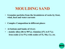 03 SAND AND FURNACES