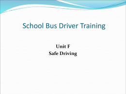 Unit B - PennDOT Driver and Vehicle Services